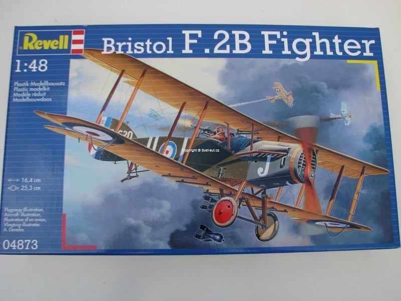 Bristol F.2B Fighter 1:48 Revell